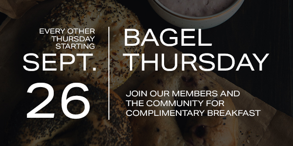 September 26 – Bagel Thursday